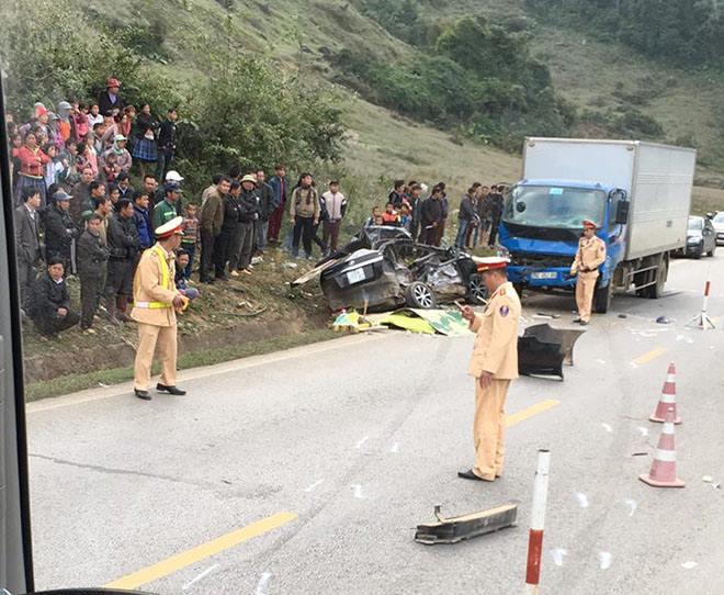 Tai nạn thảm khốc 4 người tử vong Lái xe ô tô có nồng độ cồn
