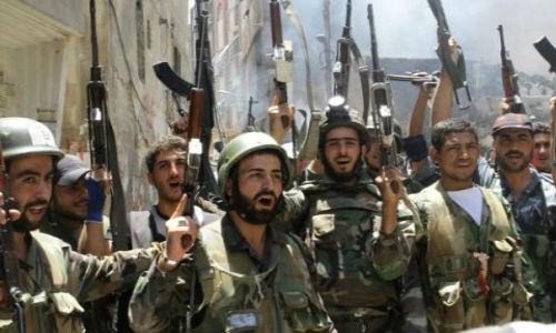 Quan doi Syria giai phong nhieu khu vuc o Deir ez-Zor