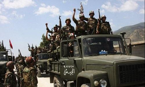 Quan doi Syria lai thang vang doi tai Latakia