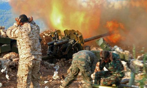Quan doi Syria danh phien quan tan tac tai Aleppo