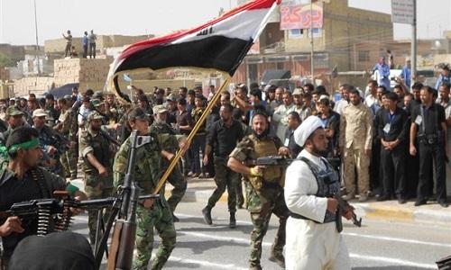 Luc luong tinh nguyen Iraq sap mo chien dich giai phong Mosul