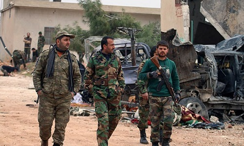 Giao tranh ac liet, chi huy khung bo bo mang tai Homs