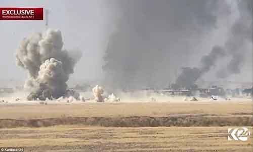 Quan doi Iraq giai phong 200 km2 gan thanh pho Mosul