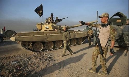 "Quan doi Iraq diet chi huy cap cao IS gan ""thu phu"" Mosul"