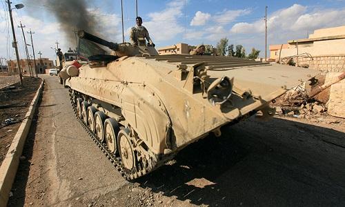 Quan doi Iraq giai phong them quan chien luoc o Mosul