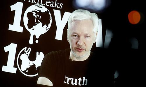 """WikiLeaks doa tung hang loat """"bi mat dong troi"""" trong nam 2017"""