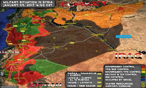 Nhung tran danh quan trong o Syria trong thang 1/2017