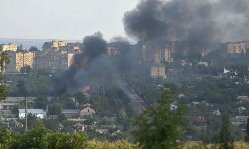 DPR: 54 binh linh thuong vong o Donbass