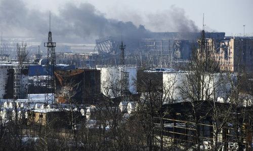 DPR: Phat hien thi the linh danh thue o san bay Donetsk