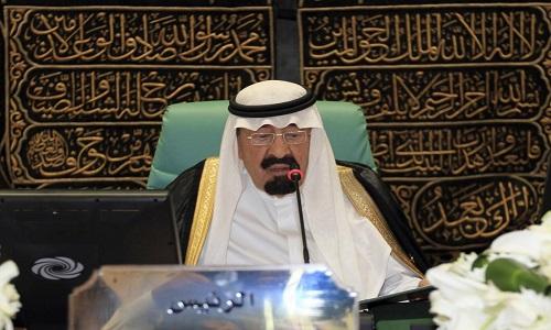 Vua A Rap Saudi Abdullah mat, em trai len ke vi