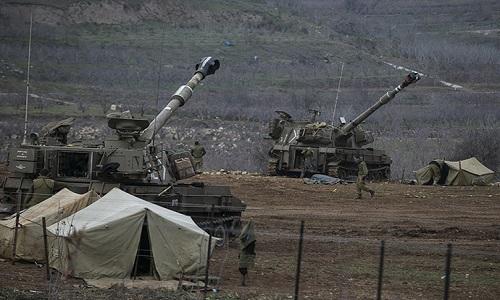 Israel tiep tuc khong kich Syria