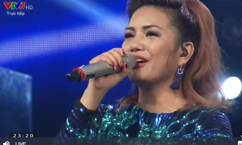 Co gai Philippines tro thanh quan quan Vietnam Idol 2016