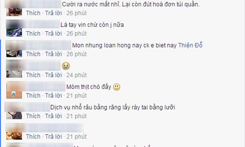 """Ba mon an """"la doi"""" ten Nhung, Loan, Hong tren hoa don trong tui chong-Hinh-2"""