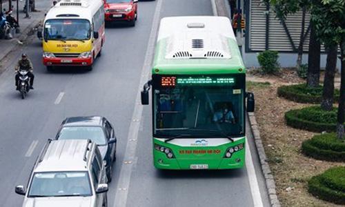 Ha Noi tiep tuc mo them tuyen buyt nhanh BRT 02 Kim Ma-Hoa Lac