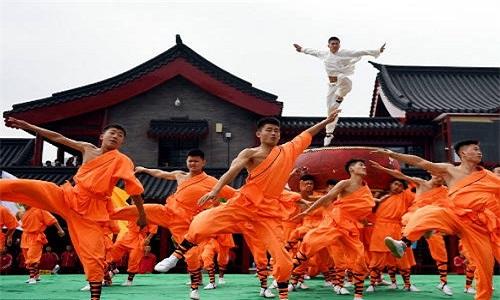 Man dong dien vo Thieu Lam hoanh trang chua tung thay