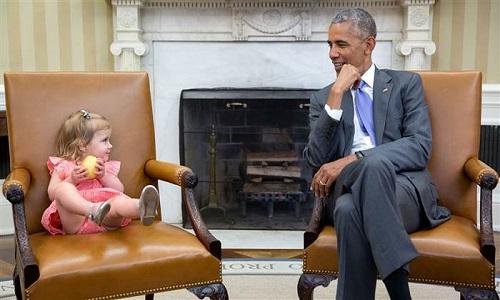Khoanh khac dep nhat cua Tong thong Obama nam 2016