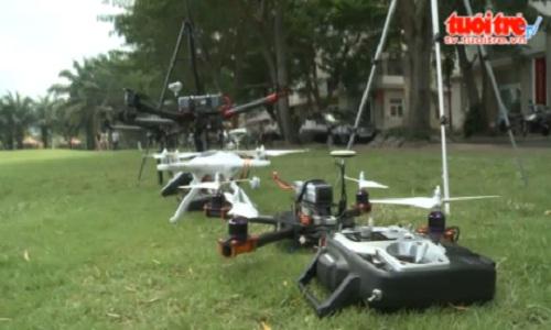 Nhung bat ngo thu vi ve flycam