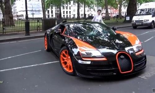 Me man ve sang chanh cua sieu xe Bugatti Veyron