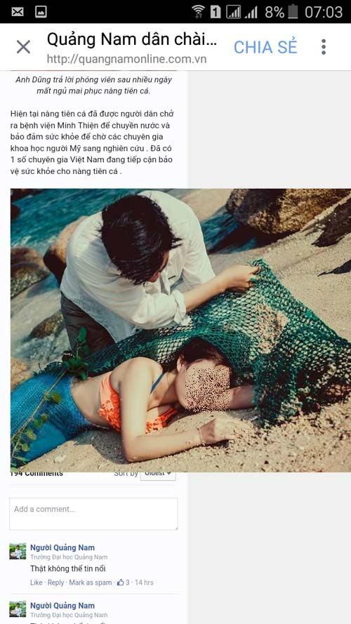 "Phat 5 trieu dong nguoi tung tin bat duoc ""nang tien ca 48 kg"""