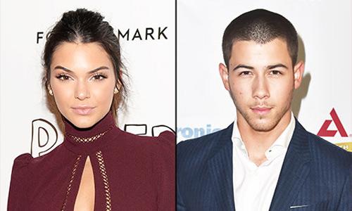 Nick Jonas hen ho mau tre Kendall Jenner