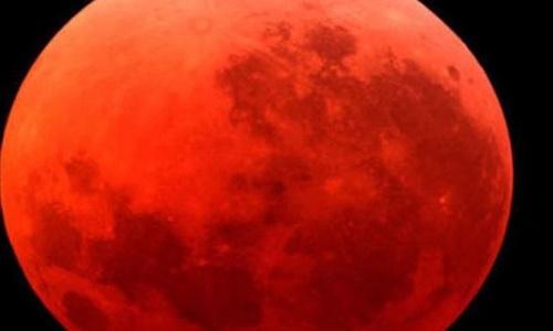 Tối 31/1, nguyệt thực toàn phần và siêu trăng cùng diễn ra