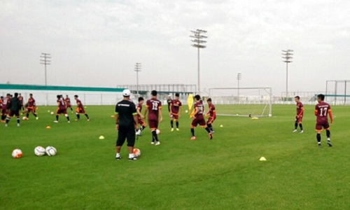 U23 Viet Nam khong duoc xep san tap tai Qatar