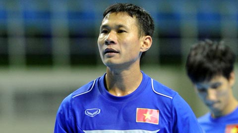 Futsal Viet Nam tap trung chuan bi cho giai Vo dich DNA