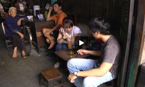 Kham pha ca phe Vot doc la o Sai Gon