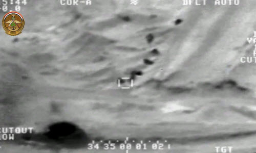 Iraq cong bo video khong kich phien quan IS