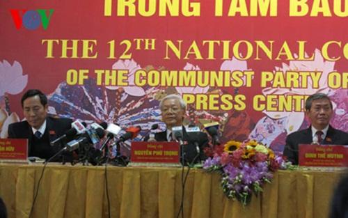 Tong Bi thu Nguyen Phu Trong chia se sau khi tai dac cu khoa XII