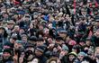 Biển người biểu tình đòi thả cựu Tổng thống Gruzia, luận tội ông Poroshenko