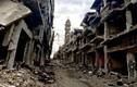 Cảnh đổ nát ở thành phố Homs sau giải phóng
