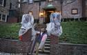 Ảnh: Gia đình Tổng thống Obama bắt đầu chuyển đồ về nhà mới