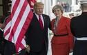 Ảnh: Tổng thống Trump nắm tay nữ Thủ tướng Anh tại Nhà Trắng