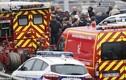 Hiện trường vụ nổ súng ở sân bay Paris
