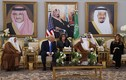 Loạt hình ấn tượng vợ chồng Tổng thống Trump tại Ả-rập Xê-út