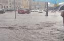 """Khiếp cảnh tượng """"phố biến thành sông"""" ở thủ đô Moscow"""