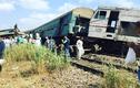 Hiện trường tai nạn tàu hỏa thảm khốc ở Ai Cập