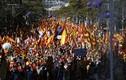 Biển người tuần hành phản đối Catalonia đơn phương tuyên bố độc lập