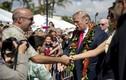 Ảnh: Vợ chồng Tổng thống Trump thăm Hawaii trước khi đến Châu Á