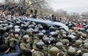 """Ukraine: Dân phá xe cảnh sát """"giải cứu"""" cựu Tổng thống Gruzia"""