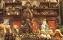 """""""Săn"""" tượng khỉ """"3 không"""" làm quà tết mang Phúc - Lộc - Thọ?"""
