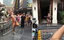 Chàng trai mặc lố bịch, uốn éo ngoài đường bị cảnh sát tóm gọn