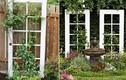 Tận dụng cửa kính khung gỗ khiến nhà đẹp như mơ