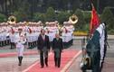 Toàn cảnh lễ đón Nhà vua và Hoàng hậu Nhật Bản tại Phủ chủ tịch