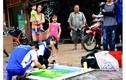 Sinh động những bức tranh trên nắp cống bẩn ở Sài Gòn