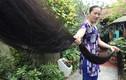 Chiêm ngưỡng mái tóc dài nhất Việt Nam đen óng mượt mà