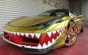 """Tận mục """"cá mập vàng"""" Ferrari phong cách chiến đấu cơ"""