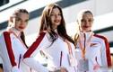 Nhan sắc xinh đẹp của bóng hồng Nga trên đường đua F1