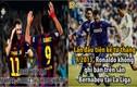 Ảnh chế bóng đá: Bale bị la ó, Messi đau lòng